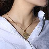 "Кулон-медальон на цепочке ""Медальончик для фото"", фото 5"