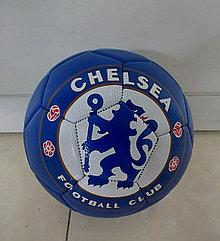 Добротный футбольный мяч Chelsea. Kaspi RED. Рассрочка
