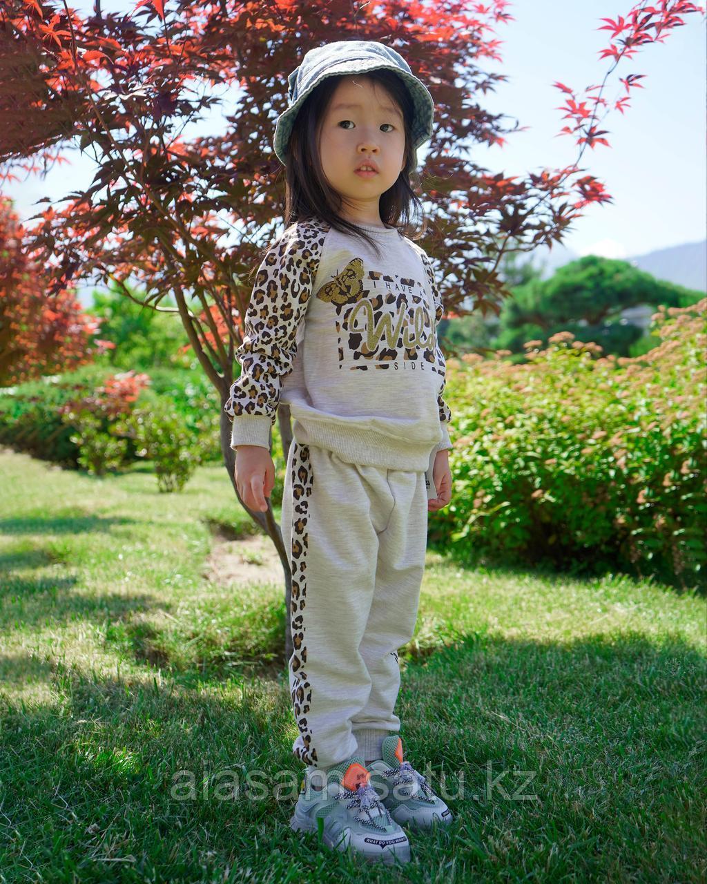 Спортивный костюм для девочек с принтом
