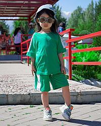 Летний костюм для девочек (майка, шортики)