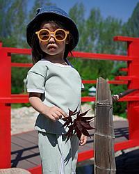 Летний спортивный костюм для девочек