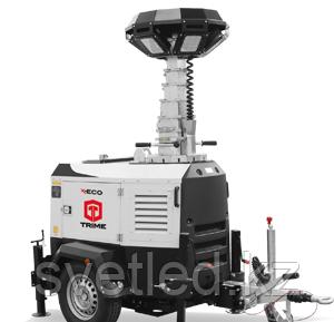 TRIME X-Eco ANTI-GLARE 6x150W 48V LED - 9M дизельная осветительная мачта