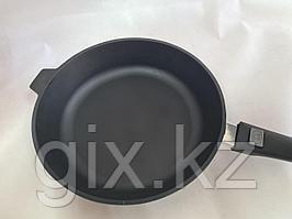 Сковорода литая чугунная 280*60 со съемной бакелитовой ручкой