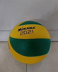 Качественный волейбольный мяч Mikasa. Kaspi RED. Рассрочка