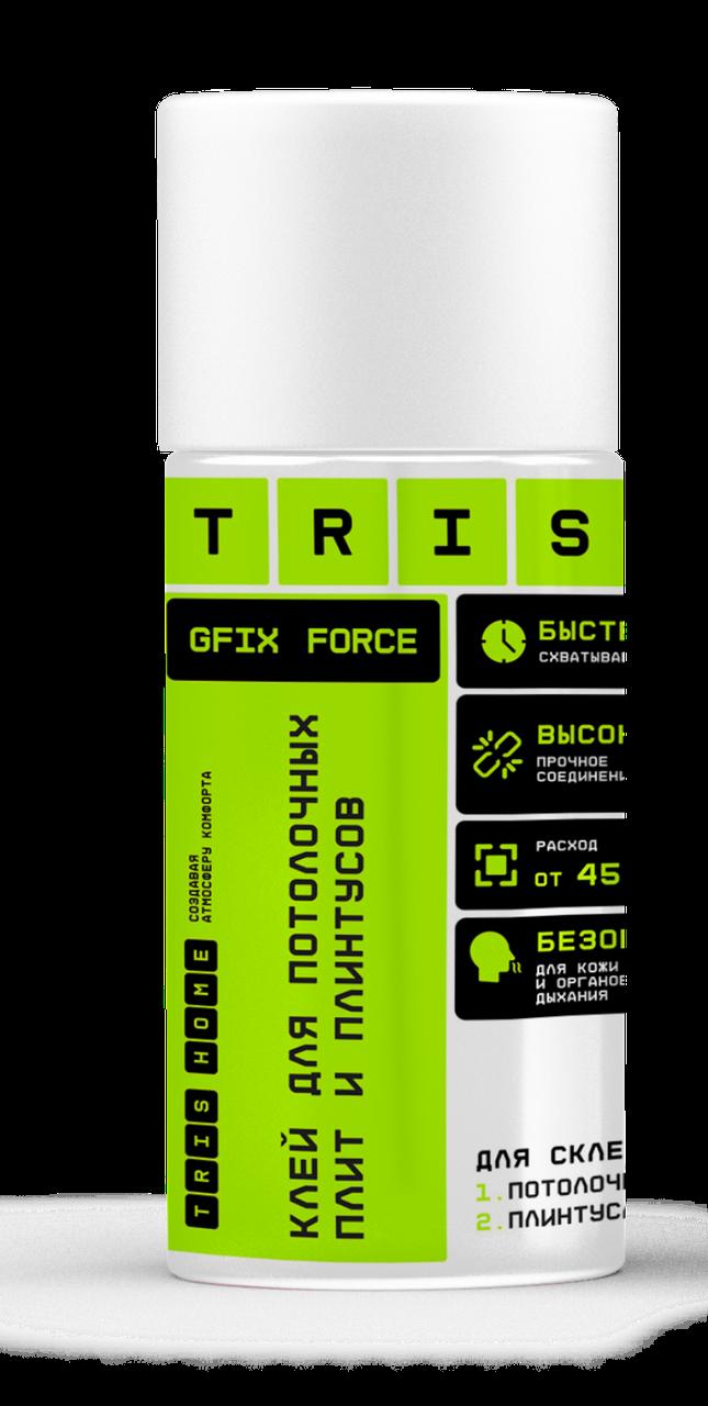 """TRIS, Клей для потолочных плит и плинтусов """"GFIX FORCE"""", 500мл"""
