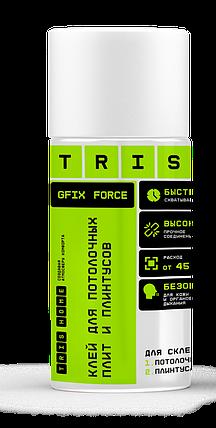 """TRIS, Клей для потолочных плит и плинтусов """"GFIX FORCE"""", 500мл, фото 2"""