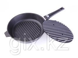 Сковорода-гриль 280х60 с бакелитовой ручкой ( без пресса)