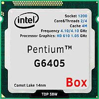 Pentium G6405 Box