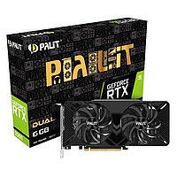 6GB RTX 2060 PALIT DUAL (NE62060018J9-1160A-1), фото 1