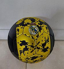 Практичный футбольный мяч Черный. Kaspi RED. Рассрочка