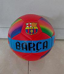 Бюджетный футбольный мяч Barca. Kaspi RED. Рассрочка