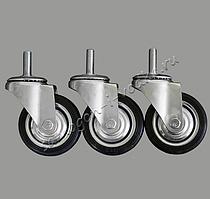 Набор колес для кубов 75/76/100 литров