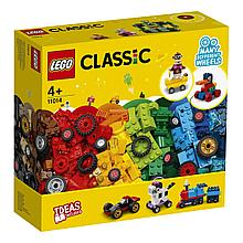 11014 Lego Classic Кубики и колёса, Лего Классик