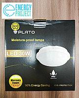 Светильник LED НПП 30W круг белый с датчиком PLATO, фото 5