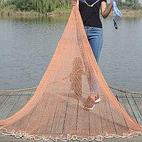 Кастинговая сеть парашют 6 м Ø,Капрон, спортивная снасть
