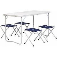 Набор мебели (СТАЛЬ), стол + 4 табурета (21407+21124) Helios (пр-во ГК Тонар) tr-135138