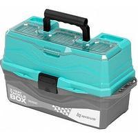 Ящик для снастей Tackle Box трехполочный NISUS бирюзовый (N-TB-3-Т) tr-242315
