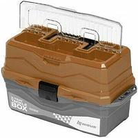 Ящик для снастей Tackle Box трехполочный N-TB-3-T Nisus золотой N-TB-3-GO
