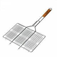 Решетка для барбекю лайт стейк 58*34*22 см helios hs-rb bw206p tr-176206