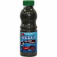 Прикормка зимняя delfi ice fish tornado (озеро; червь + мотыль, черная, 500 мл) dfg-509bl tr-218625