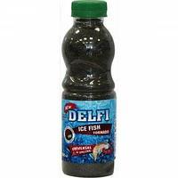 Прикормка зимняя DELFI ICE FISH Tornado (универсальная; гаммарус + мотыль, черная + БЛЕСТКИ, 500 мл) tr-218629