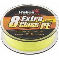 Шнур плетеный Helios EXTRA CLASS 8 PE BRAID Fluorescent Yellow 0,10mm/135 (HS-8PEY-10/135 Y) tr-119299