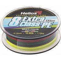 Шнур плетеный Helios EXTRA CLASS 8 PE BRAID Multicolor 0,15mm/135 (HS-8PEM-15/135 M) tr-119309