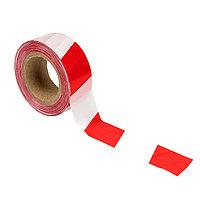 Лента оградительная ЛО красно-белая 50*100_EKF Basic