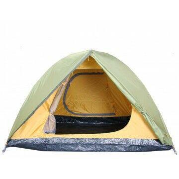 Палатка BREEZE-3 Helios зеленый HS-2370-3 - фото 4
