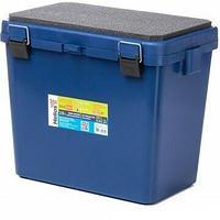 Ящик рыболовный зимний Ящик-М односекционный синий helios tr-155382