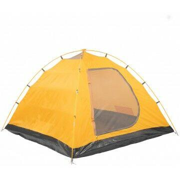 Палатка MUSSON-3 Helios зеленый-оранжевый HS-2366-3 GO - фото 6