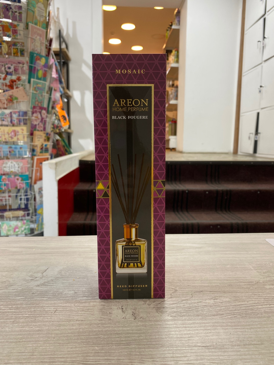 Areon ароматизатор для дома серия Mosaic парфюмированная 150 мл Black Fougere