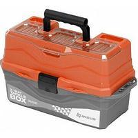 Ящик для снастей tackle box трехполочный n-tb-3-t nisus оранжевый N-TB-3-O