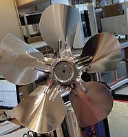 Лопасть для вентилятора 25см алюминиевый