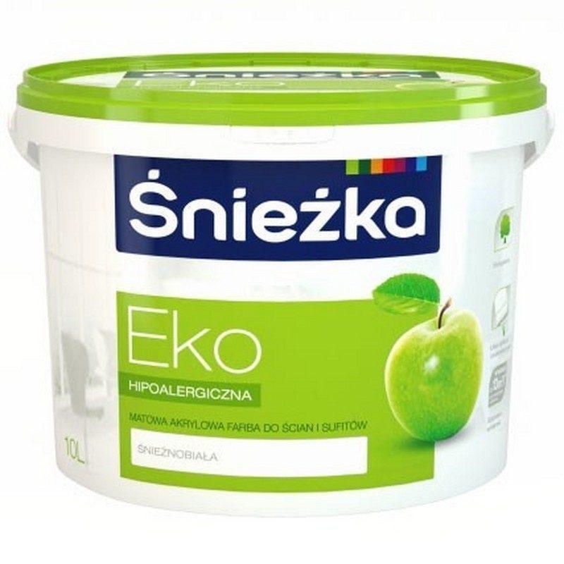 EKO Sniezka МАТОВАЯ АКРИЛОВАЯ КРАСКА 3 литра белая