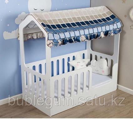 Кроватка-домик «WOODEN BED»-5 спальное ложе 160 * 80 см, высота 160 см
