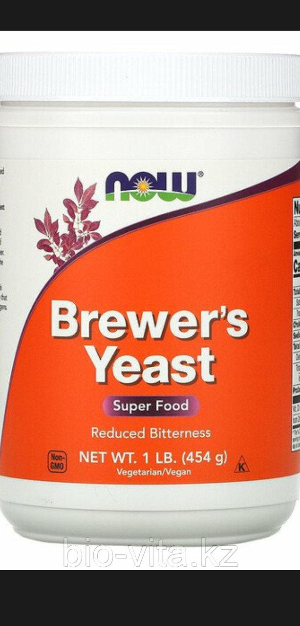 Пивные дрожжи, 454 гр. Now Foods