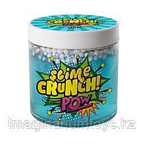 Слайм Crunch-slime Pow с шариками и ароматом конфет и фруктов 450г