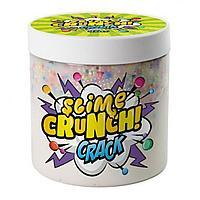 Слайм Crunch-slime Crack с шариками и ароматом сливочной помадки 450г