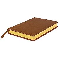 Ежедневник датированный Joy, А5,  коричневый, белый блок, золотой обрез, Коричневый, -, 24604 14