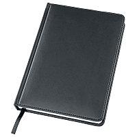 Ежедневник датированный Bliss, А5,  темно-серый, белый блок, без обреза, Серый, -, 24600 30