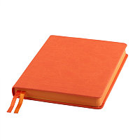 Ежедневник датированный Softie, А5, оранжевый, кремовый блок, оранжевый обрез, Оранжевый, -, 24721 05