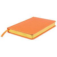 Ежедневник датированный Joy, А5,  оранжевый, белый блок, золотой обрез, Оранжевый, -, 24604 05
