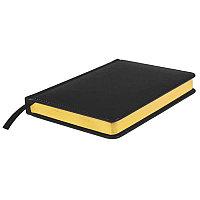 Ежедневник датированный Joy, А5,  черный, белый блок, золотой обрез, Черный, -, 24604 35