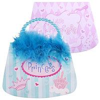 Блокнот-сумочка,принцесса, бисер, перья