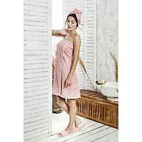 Набор для сауны женский Paris, цвет коралловый