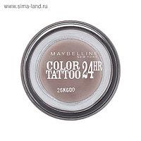 Тени для век Maybelline Color Tattoo, оттенок 40, Долговечный коричневый