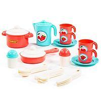 Набор детской посуды «Настенька», на 4 персоны, 28 элементов