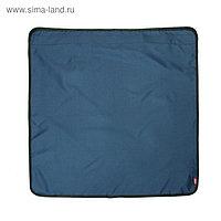 Фартук на бампер Tplus 800х800 мм, оксфорд 210, синий (T007303)