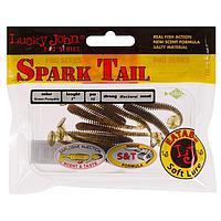Твистер Lucky John Pro S Chunk Tail 5см 140167-РА03 (набор 10 шт)